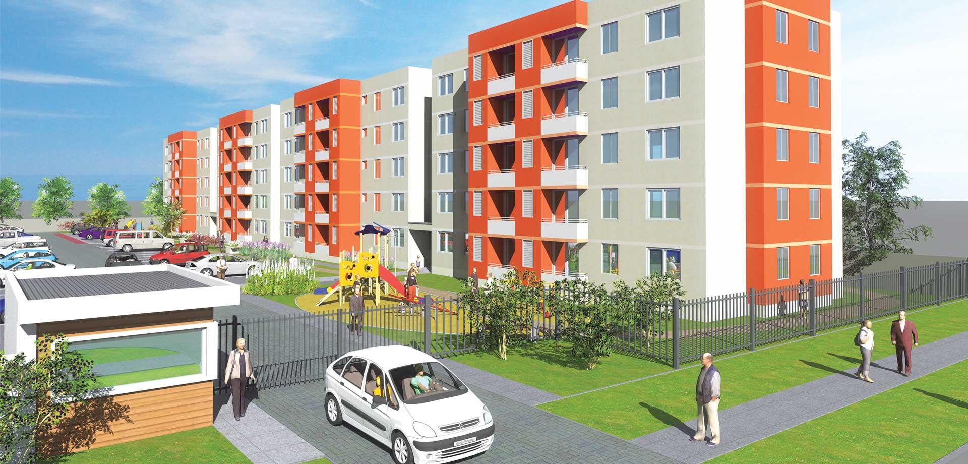 Condominio El Encanto Temuco, venta de departamentos con subsidio habitacional